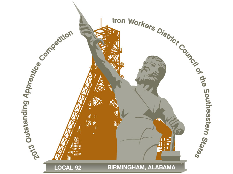 Iron Workers Local 92 Outstanding Apprentice Logo